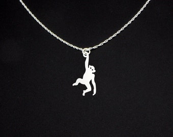 Monkey Necklace - Monkey Jewelry - Monkey Gift