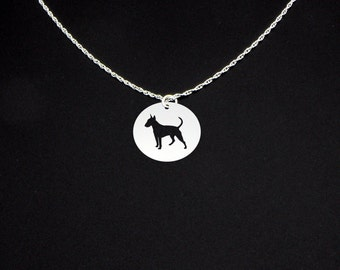 Bull Terrier Necklace - Bull Terrier Jewelry - Bull Terrier Gift