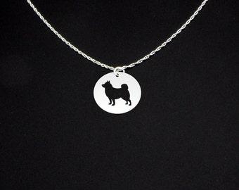 Schipperke Necklace - Schipperke Jewelry - Schipperke Gift