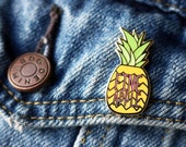 Fineapple Enamel Pin - Pineapple Pin