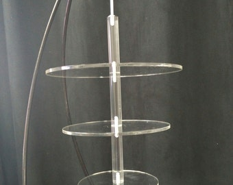 Suspended Hanging upside down  cake plate kit- (NO STAND )