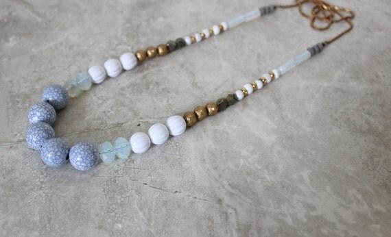 HIMINN Necklace, Long Statement Necklace