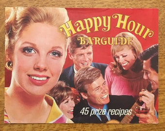 1960s Southern Comfort Happy Hour Bar Guide Vintage