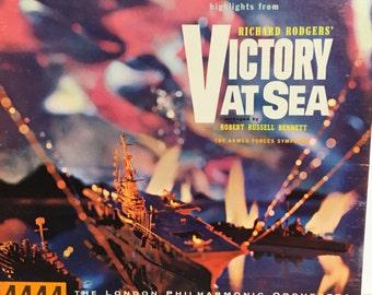 "Original Richard Rodgers' ""Victory at Sea"" Reel to Reel Tape"