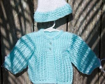 knit baby sweater, baby girl sweater, newborn sweater, baby sweater,baby shower gift
