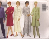 Butterick Sewing Pattern 6269 - Misses'/Miss Petite Jacket, Duster, Skirt & Pants (8-12, 14-18, 20-24)