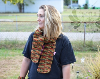 Fall / Autumn Scarf Crocheted