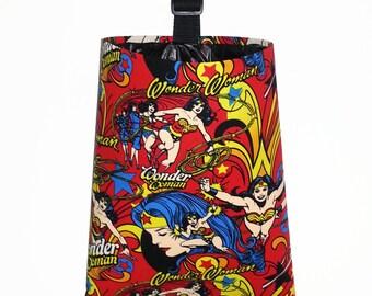 Car Trash Bag - Wonder Woman