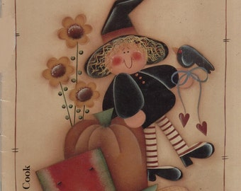 Helena's Harvest Heartstrings by Helena Cook--Decorative Painting