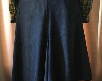 1940's Selvedge Denim Western Culottes