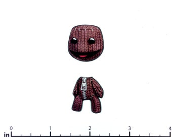 Mix and Match Magnets: Sack Boy (Little Big Planet)