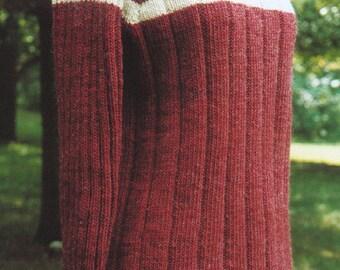 Knitting Pattern - High V-Neck Raglan, women's ladies worsted and bulky option v-neck raglan pullover sweater PDF pattern