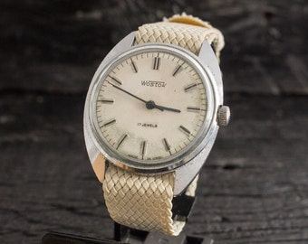 Men's watch, Vintage Wostok Boctok mens watch, vintage russian mechanical watch,  vintage men's watch cccp ussr, vintage russian watch