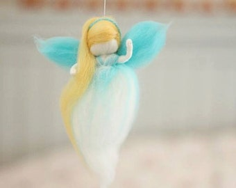 Needle Felted Dream Fairy, Ornament, Home Decoration