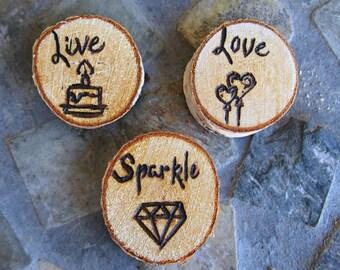 Live, Love, Sparkle Magnet