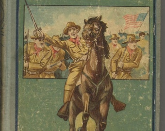 Antique Early 1900 Bravest of the Brave Book