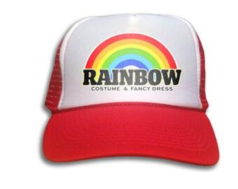 Trucker Cap - Rainbow Costume & Fancy Dress Hat - Snapback Mesh Trucker Hat
