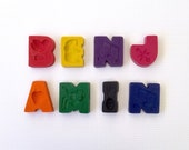 8 Letter Name Crayons - Personalised