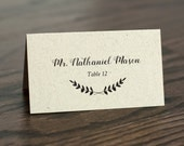Printable Place Cards, Instant Downloadable Wedding Place Cards, Escort Cards, Rustic Place Cards