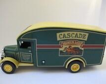 "CASCADE BEER TRUCK, South Hobart Tasmania Australia/Matchbox 1994 Truck/Larger Size/ Mattel Car Truck Toy ""Models of Yesteryear"" 1931 Morris"