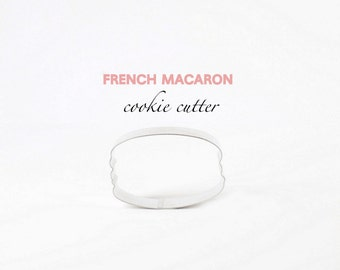 French Macaron Cookie Cutter (Stainless Steel)