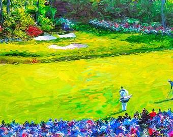 Augusta Master's Golf Fine Art Canvas Print