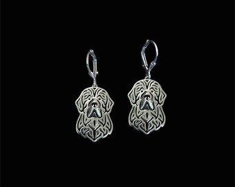 Newfoundland earrings - sterling silver.
