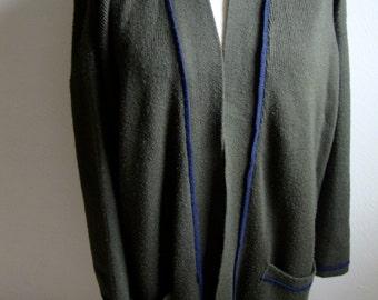 Large Cardigan Sweater