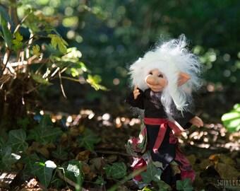 Troll Melanie -  Posable Ooak Art Doll