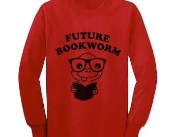 Future Bookworm Toddler Long Sleeve T-Shirt