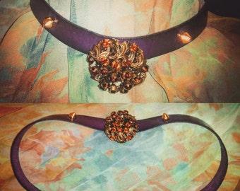 Collar vintage style