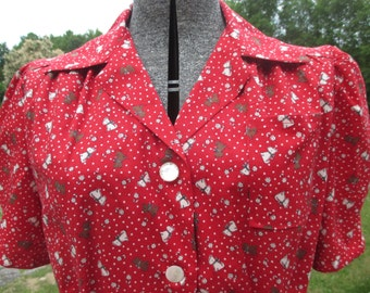 Ready-Made 1940s Reproduction Blouse