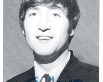 Fab Four The Beatles Individual Bubble Gum Trading Card