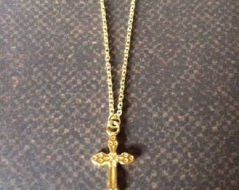 Cross Necklace - Religiouos Necklace - Cross Necklace Women - Cross Necklace Gold - Cross Necklace for Girls - Cross Neclace - Religious