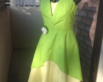 Tiana Disneybound Dress