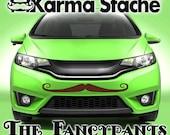 "36"" Car Mustache Vinyl Decal Sticker - Style; Fancypants - Color; Brown  -  Karma Stache: Your #1 Source for Car Mustaches!"