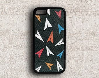 iPhone 5c Case Protective, Hard Back Case for iPhone 5, Paper Planes iPhone 5 Case, iPhone 6 Plus Case Hipster, Rubber Bumper Phone Case