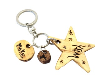Make A Wish! Keychain or Purse Charm