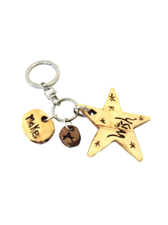 Charm Key Chain from Feath & Kee