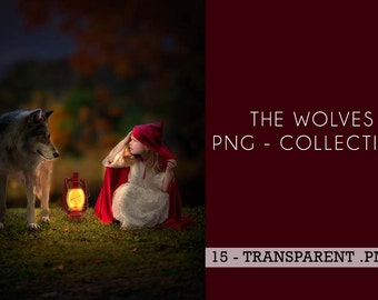 15 -PNG - Wolves Collection