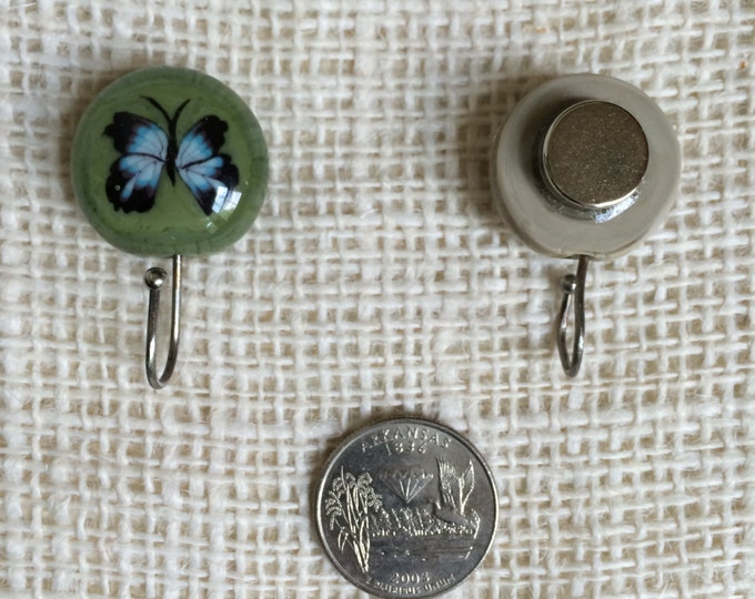 Knitting Pin Magnetic - Butterfly Magnetic Pin