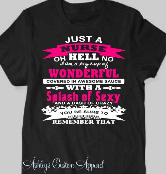 Nurse shirt nursing shirts gift for a nurse proud of her for I am a nurse t shirt