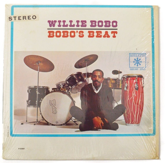 Vintage 60s Willie Bobo Bobo's Beat Mono Album Record Vinyl LP