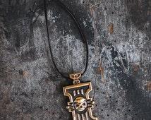 Warhammer 40k Inquisition Icon Video Game Bronze Pendant