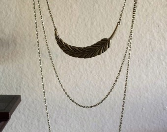 Gold Chained Necklace