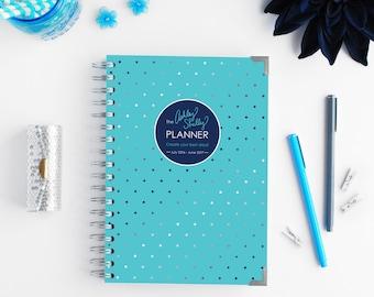 The 2016-2017 Ashley Shelly Planner/Academic: Aqua Glam