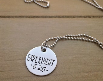 Experiment 626 Ohana Inspired Necklace