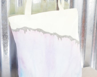 SALE* 100% Cotton Dip Dye Tote/ Canvas Bag/ Reusable Bag/ Tote/ Cotton Bag/ Market Bag