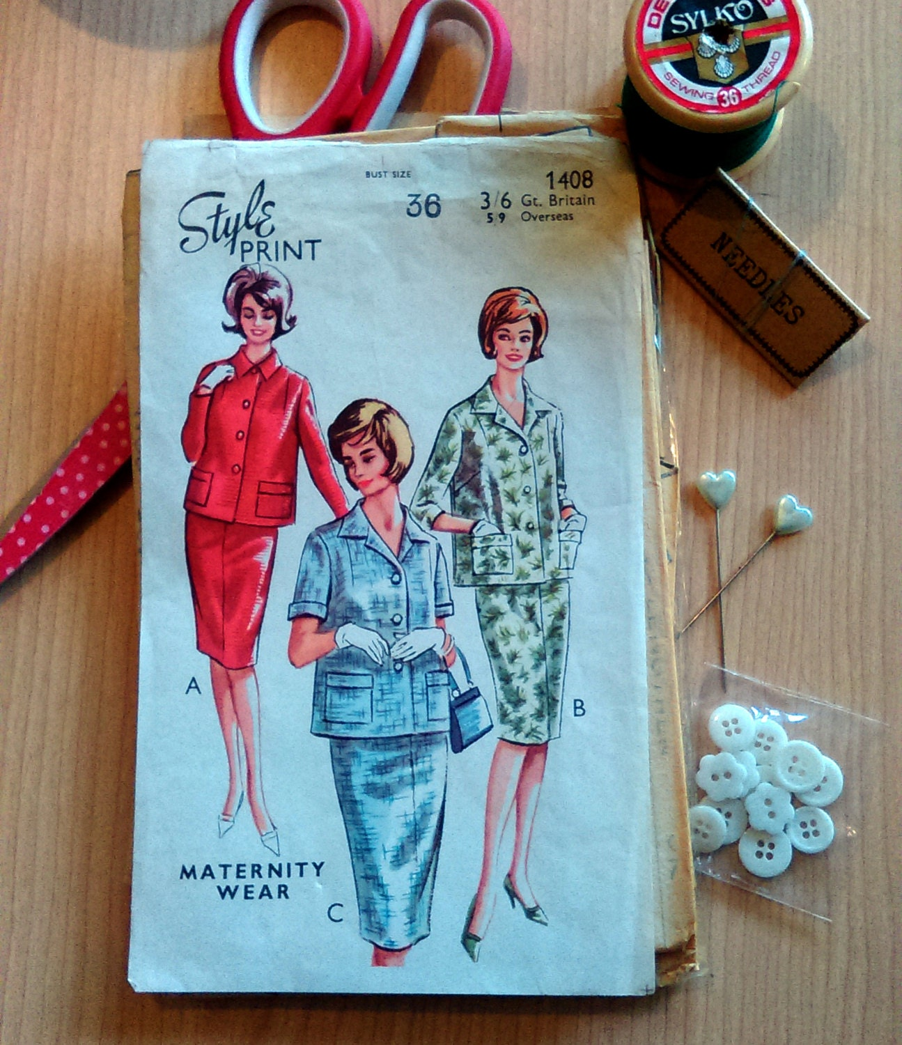 Vintage maternity sewing pattern style dress pattern 1408 60s vintage maternity sewing pattern style dress pattern 1408 60s dress vintage sewing pattern shift dress suit pattern for women sewing ombrellifo Choice Image