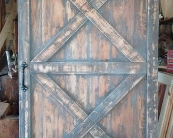 "Rustic Sliding Barn Door 42""W"